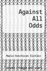 Cover of Against All Odds EDITIONDESC (ISBN 978-0066326986)