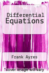 Cover of Differential Equations EDITIONDESC (ISBN 978-0070026544)