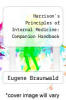 cover of Harrison`s Principles of Internal Medicine: Companion Handbook (11th edition)