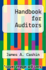 cover of Handbook for Auditors