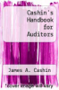 cover of Cashin`s Handbook for Auditors (2nd edition)