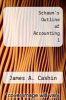 cover of Schaum`s Outline of Accounting 1 (3rd edition)