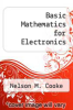 cover of Basic Mathematics for Electronics (4th edition)