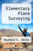 cover of Elementary Plane Surveying (4th edition)