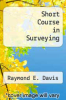cover of Short Course in Surveying