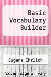 Basic Vocabulary Builder by Eugene Ehrlich - ISBN 9780070191051