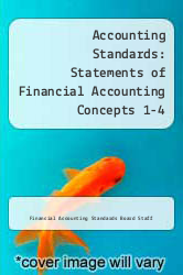 Cover of Accounting Standards: Statements of Financial Accounting Concepts 1-4 EDITIONDESC (ISBN 978-0070209107)