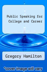 Cover of Public Speaking for College and Career 4 (ISBN 978-0070247581)