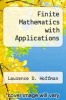 cover of Finite Mathematics with Applications