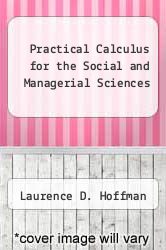Cover of Practical Calculus for the Social and Managerial Sciences EDITIONDESC (ISBN 978-0070293151)