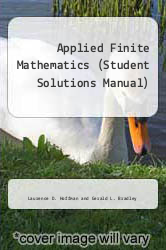 Cover of Applied Finite Mathematics (Student Solutions Manual) 2ND 95 (ISBN 978-0070293762)