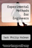 cover of Experimental Methods for Engineers (3rd edition)