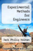 cover of Experimental Methods for Engineers (4th edition)