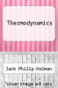 cover of Thermodynamics (3rd edition)