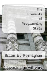 Cover of The Elements of Programming Style EDITIONDESC (ISBN 978-0070341999)