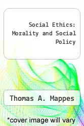 Cover of Social Ethics: Morality and Social Policy EDITIONDESC (ISBN 978-0070401204)