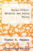 cover of Social Ethics: Morality and Social Policy (2nd edition)