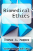 cover of Biomedical Ethics (2nd edition)