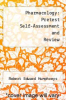 cover of Pharmacology: Pretest Self-Assessment and Review