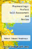 cover of Pharmacology: PreTest Self-Assessment and Review (2nd edition)