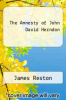 cover of The Amnesty of John David Herndon