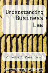 Cover of Understanding Business Law 5 (ISBN 978-0070536913)
