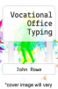 cover of Vocational Office Typing