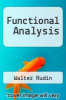 cover of Functional Analysis
