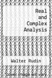 Cover of Real and Complex Analysis 2 (ISBN 978-0070542334)