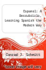 cover of Espanol: A Descubrirlo, Learning Spanish the Modern Way (3rd edition)