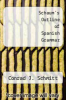 cover of Schaum`s Outline of Spanish Grammar (2nd edition)