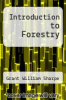 cover of Introduction to Forestry (4th edition)