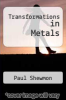 cover of Transformations in Metals