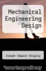 cover of Mechanical Engineering Design (2nd edition)