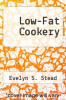 cover of Low-Fat Cookery