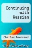 cover of Continuing with Russian