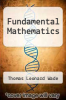 cover of Fundamental Mathematics (4th edition)
