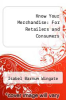 cover of Know Your Merchandise: For Retailers and Consumers (4th edition)