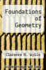 cover of Foundations of Geometry