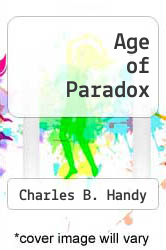 Cover of Age of Paradox EDITIONDESC (ISBN 978-0071034340)