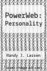 cover of PowerWeb: Personality
