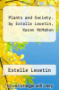 cover of Plants and Society. by Estelle Levetin, Karen McMahon