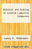 cover of Ribstein and Keating on Limited Liability Companies