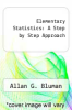 cover of Elementary Statistics: A Step by Step Approach (4th edition)