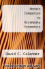 cover of Honors Companion to Accompany Economics (5th edition)