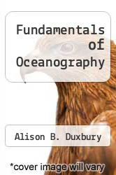 Cover of Fundamentals of Oceanography 4 (ISBN 978-0072427905)