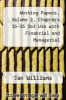 cover of Working Papers, Volume 2, Chapters 15-25 for Use with Financial and Managerial Accounting: A Basis for Business Decisions (12th edition)