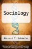 cover of Sociology (8th edition)