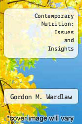 Cover of Contemporary Nutrition: Issues and Insights 6 (ISBN 978-0072501858)