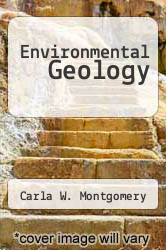 Cover of Environmental Geology 7 (ISBN 978-0072528169)
